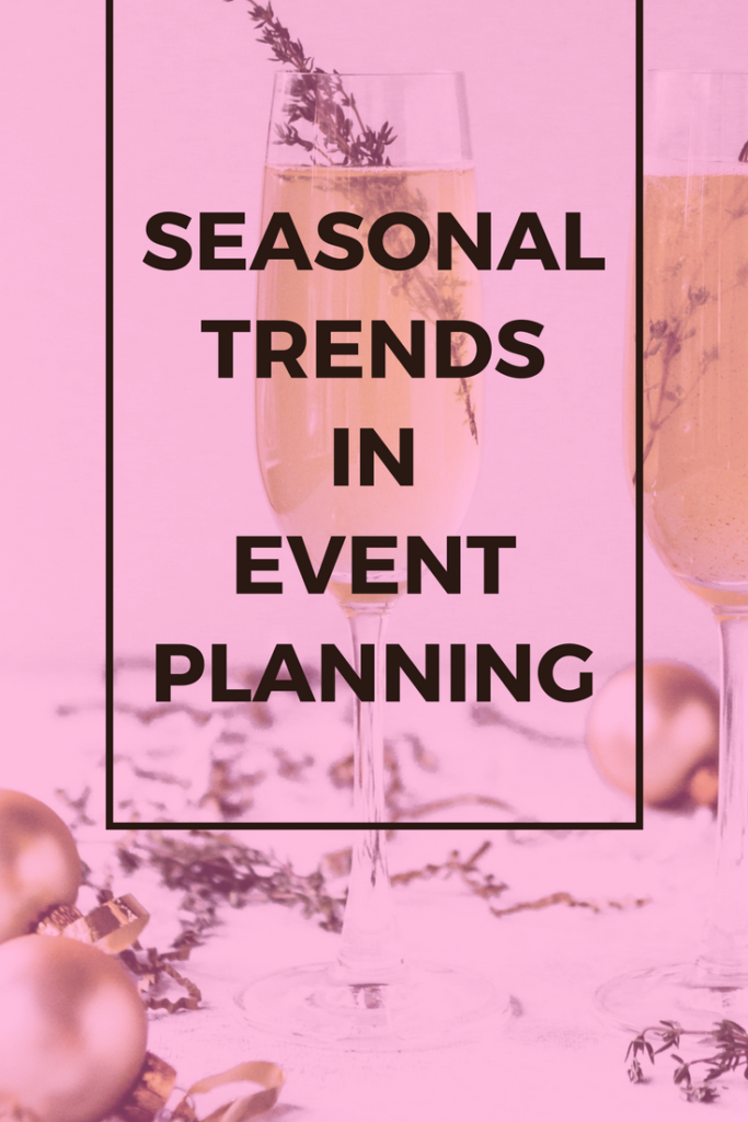 Seasonal Trends in Event Planning