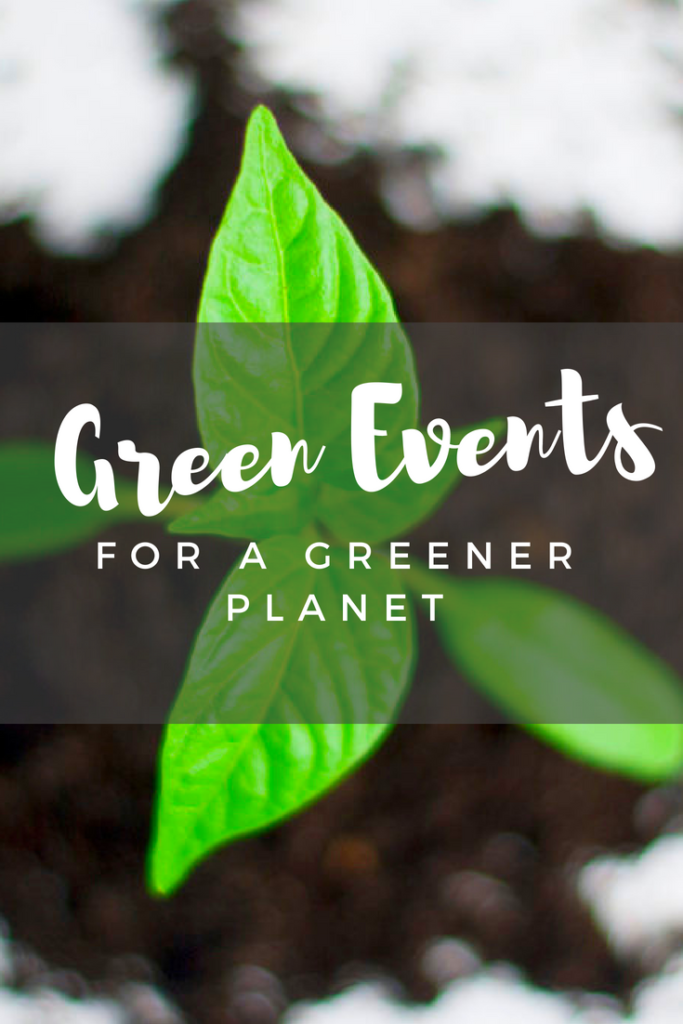 Green Events for a Greener Planet - interested in saving the environment at your event? Discover ways you can.