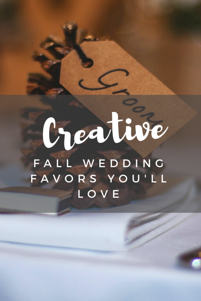 Creative Fall Wedding Favors You'll Love