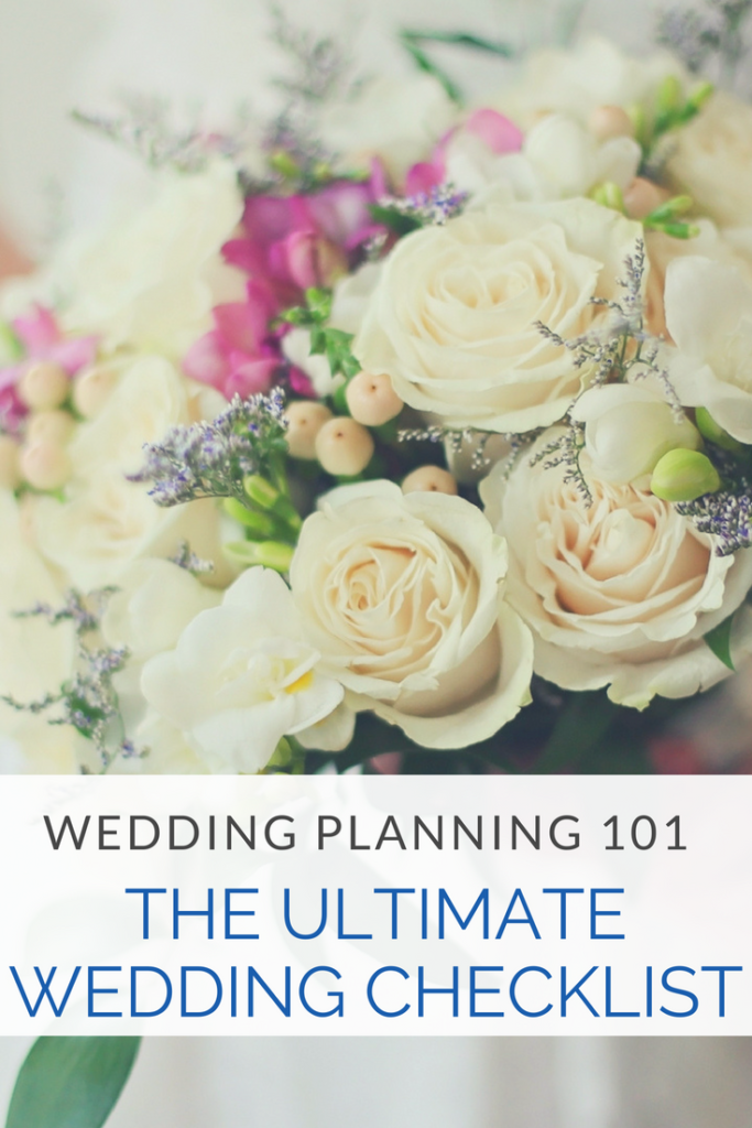 Wedding Planning 101: The Ultimate Wedding Check-List