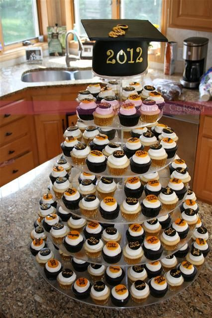 Graduation Party Cupcakes