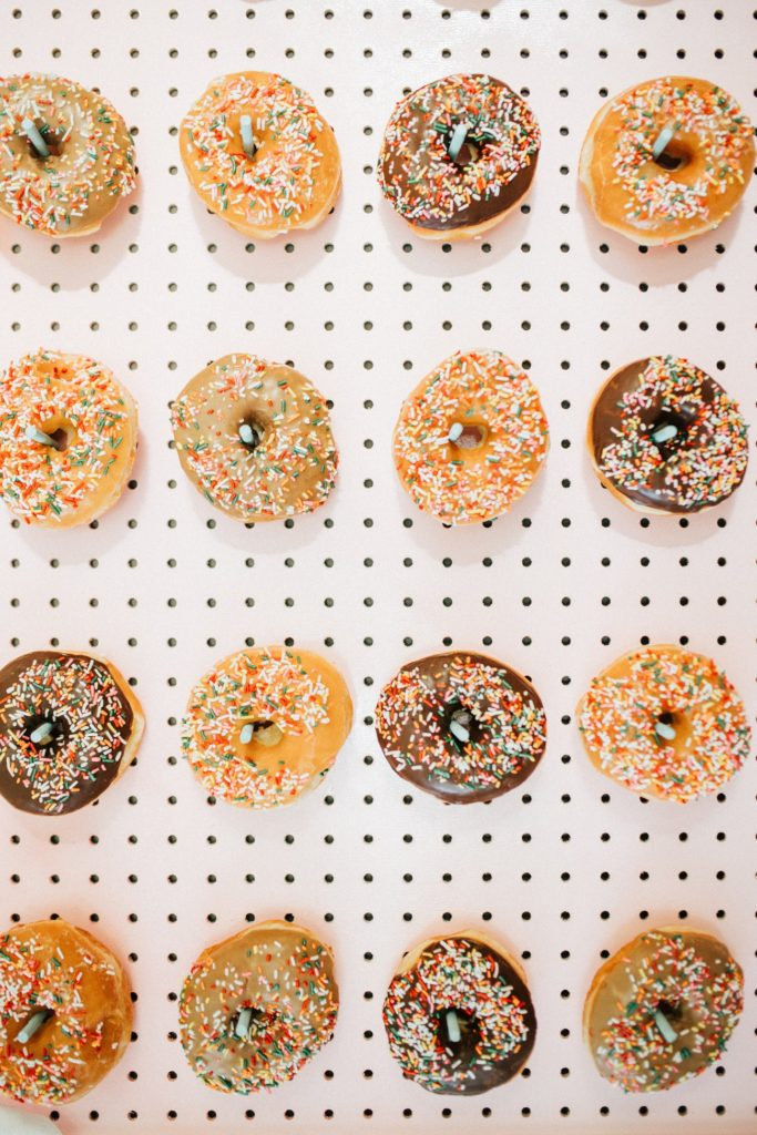 Cupcakes or donut wall?