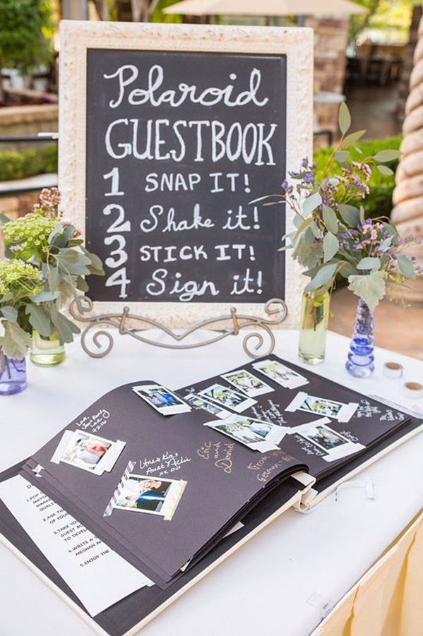 Party Polaroid Guestbook