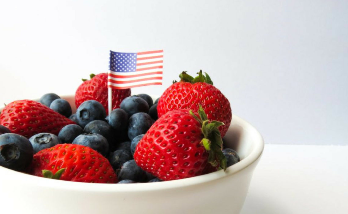 Patriotic appetizers