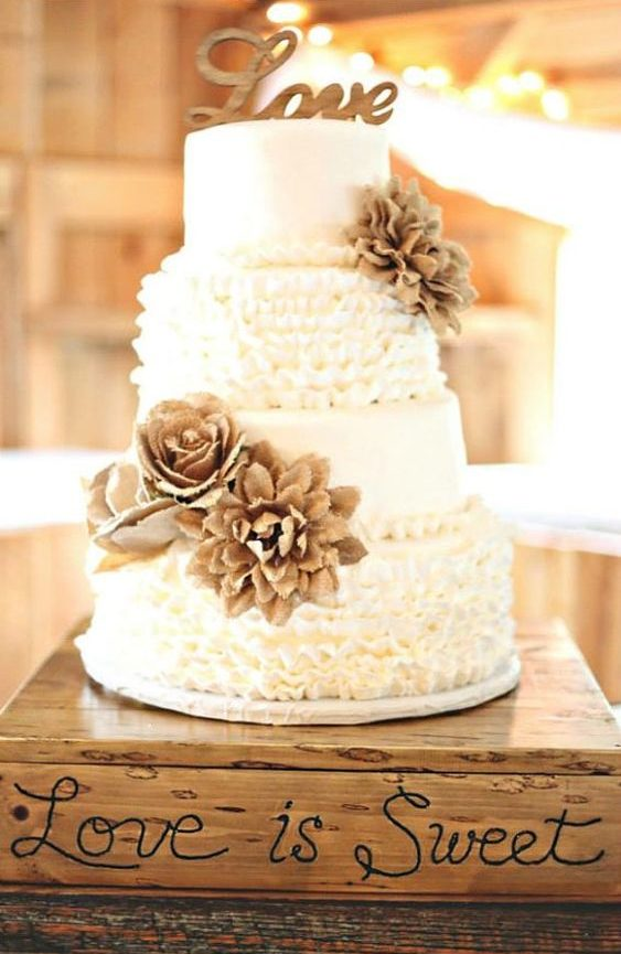 Rustic Fall Wedding Cakes for your Wedding