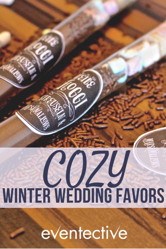 Cozy Wedding Favors