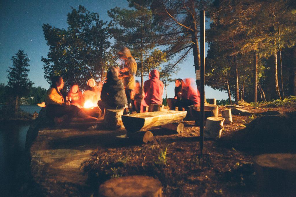 Bonfire for Multi-Day Wedding