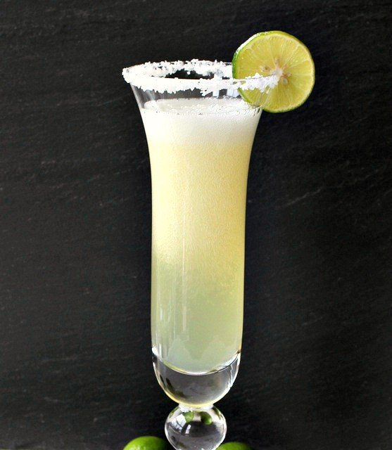 Champagne Margarita Cocktail