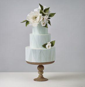 Crummb Minimalist Wedding Cake