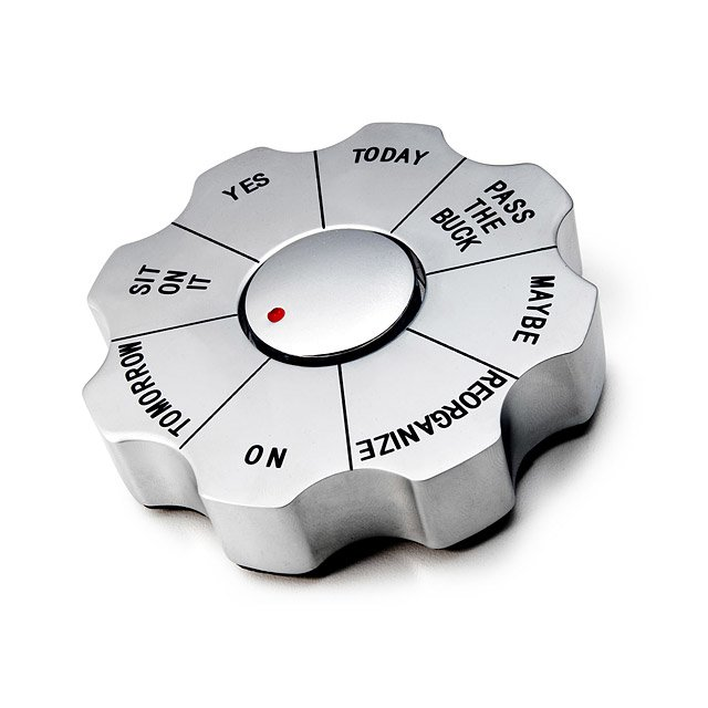 Decision Maker Paperweight