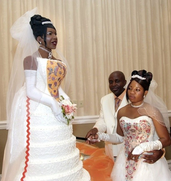 Life Size Wedding Cake