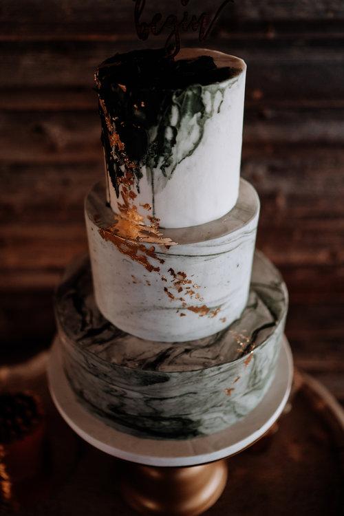 Nutmeg Cake Design Marble Wedding Cake