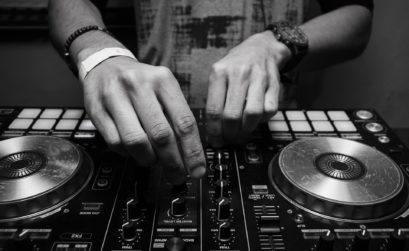 DJ Action Shot