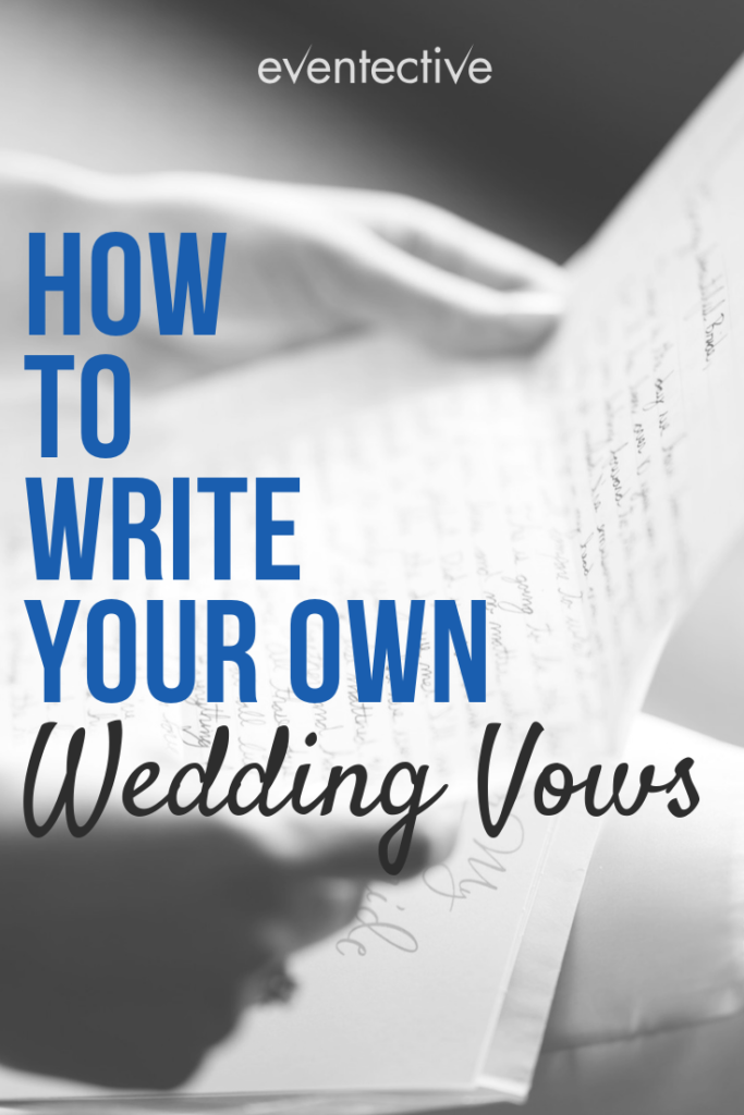 How to Writer Your Own Wedding Vows