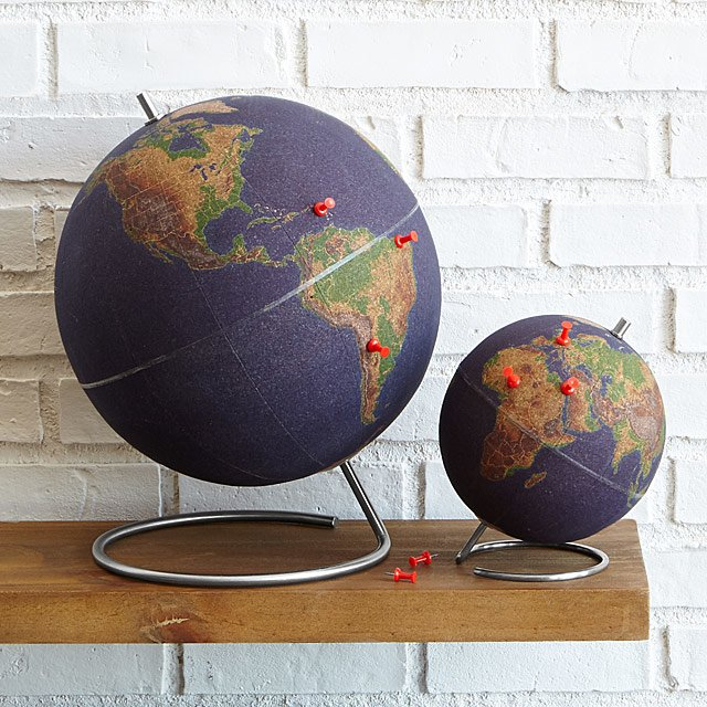 Graduation Presents World Traveler Cork Globe