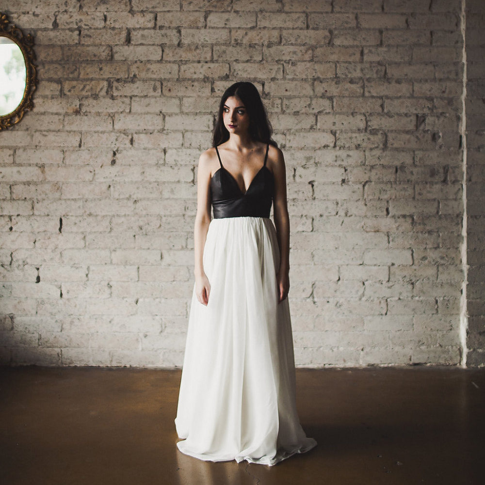 Leather Wedding Dress