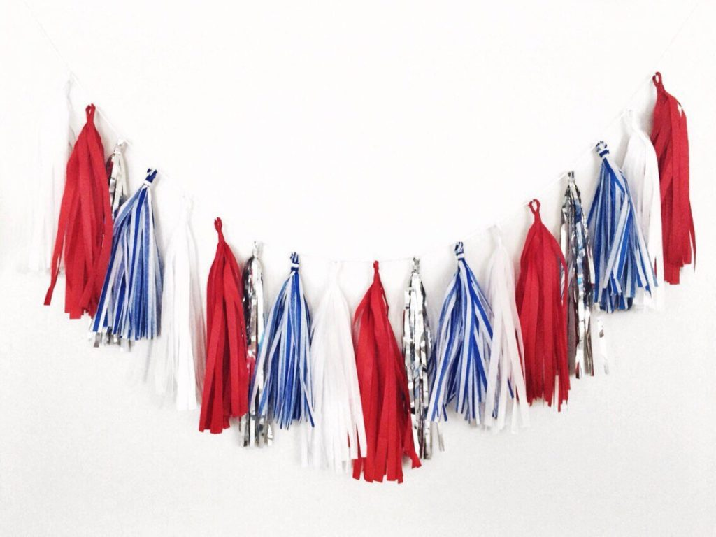 4th of July Decorations Tassels