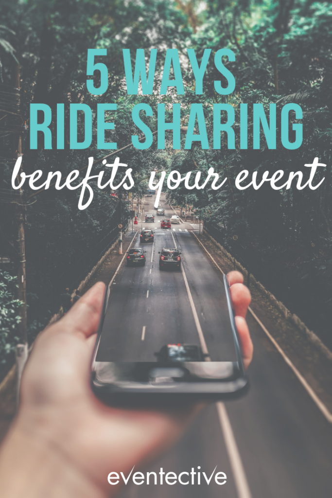5 Ways Ride Sharing Benefits Your Event