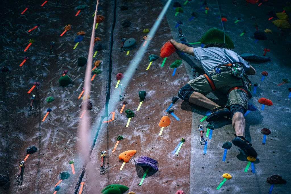 Team Building Rock Climbing