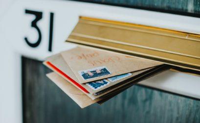 Direct Mail in Door Slot