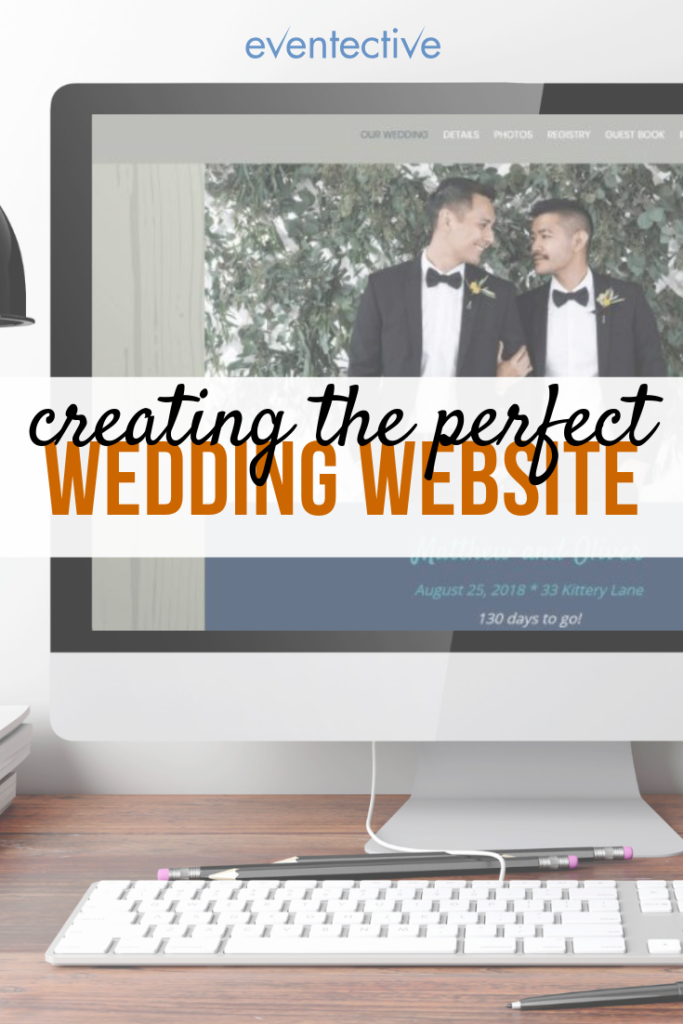 What Content to Include on Your Wedding Website