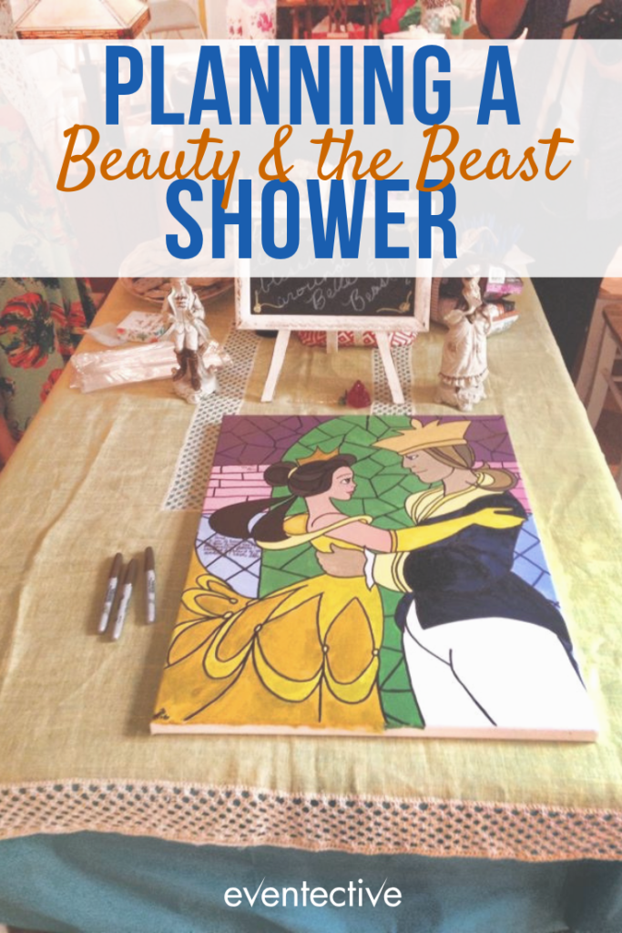 Planning a Beauty and the Beast Bridal Shower