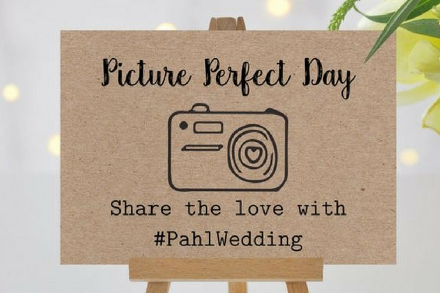 Picture Perfect Wedding Hashtag
