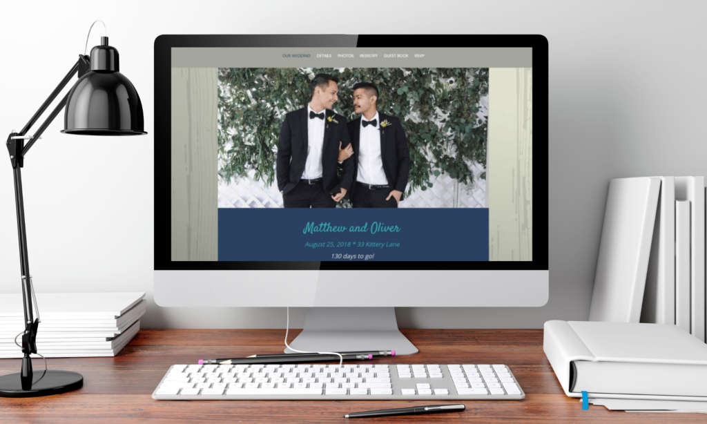 Eventective Wedding Website