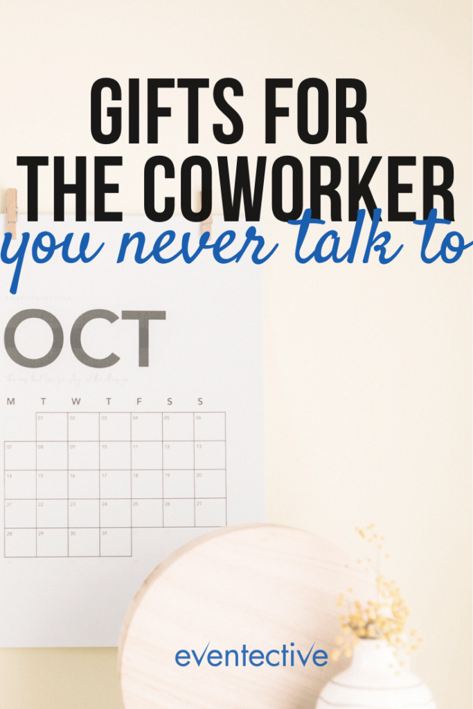 office gifts for the coworker you never talk to