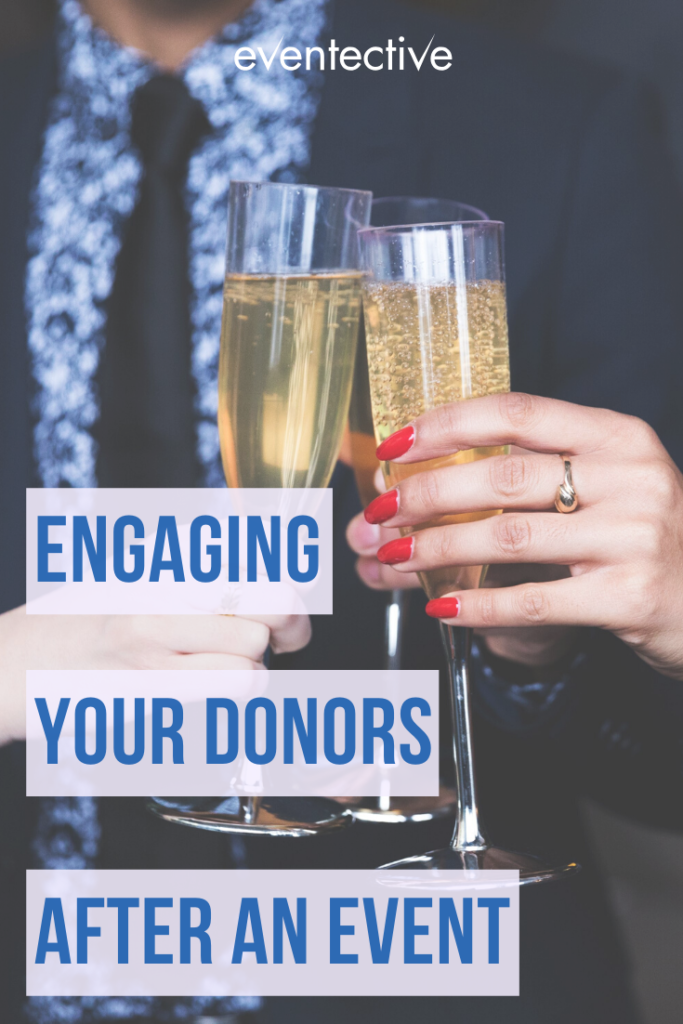 engaging donors post-event