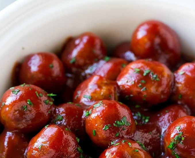 holiday appetizers cranberry meatballs