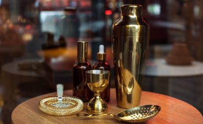 brass barware