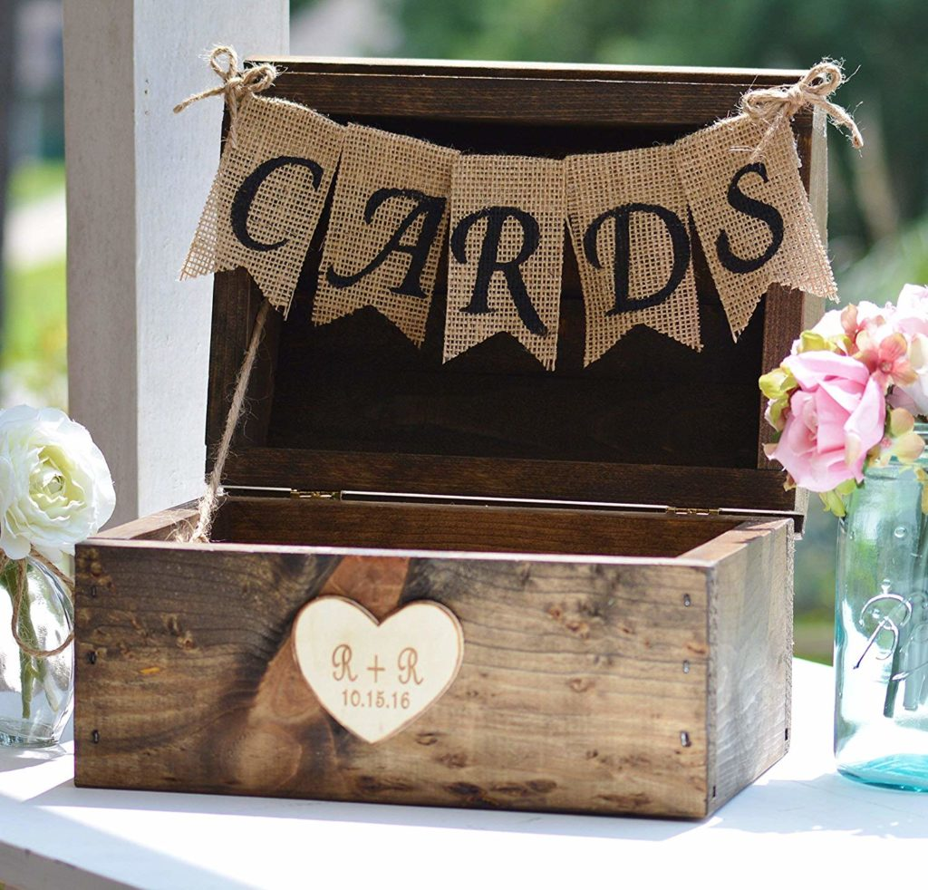 rustic wedding burlap sign