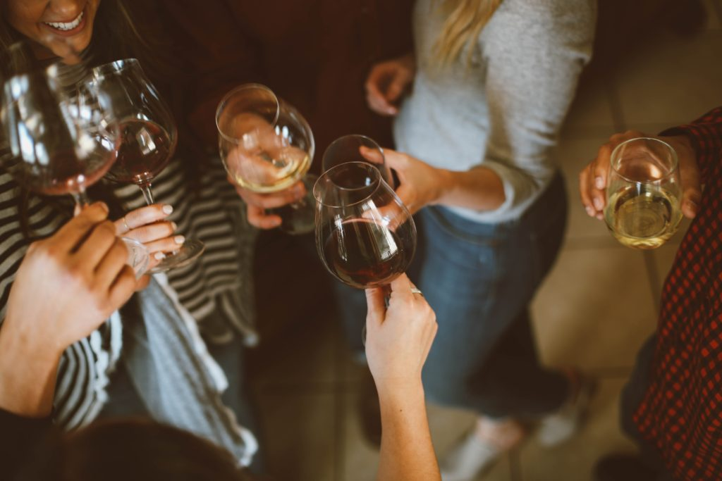 host a wine tasting for adult birthday party