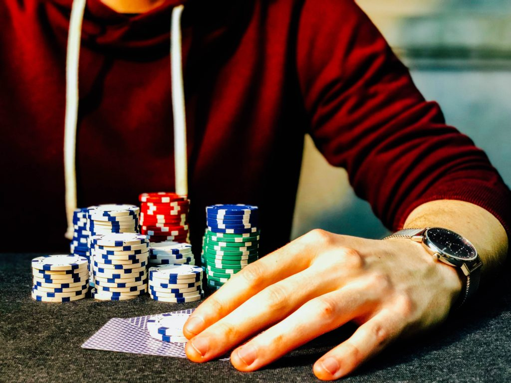 host a poker night for adult birthday party