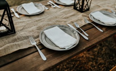 rustic wedding table seating