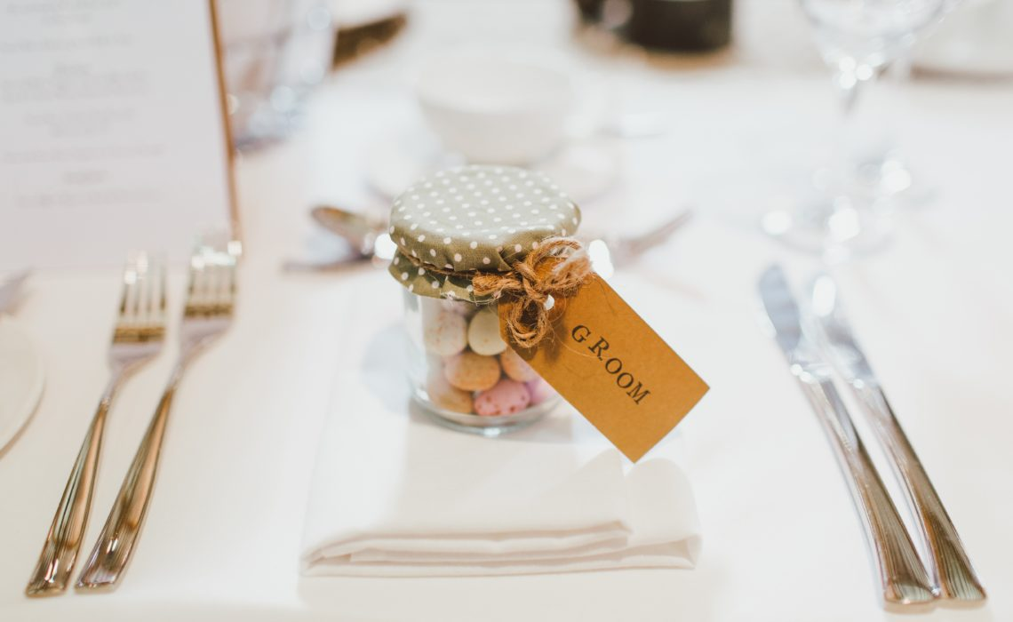 candy favors at event