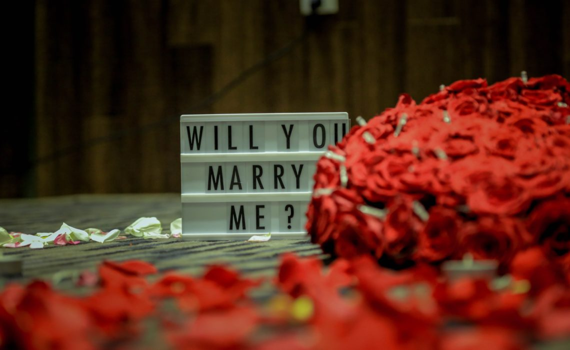 proposal flowers