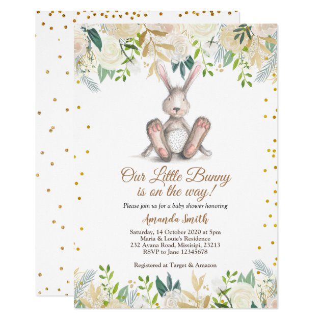 easter baby shower invitation zazzle