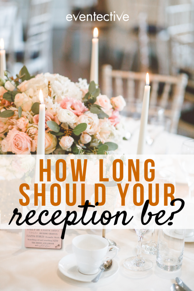 how long should your wedding reception be