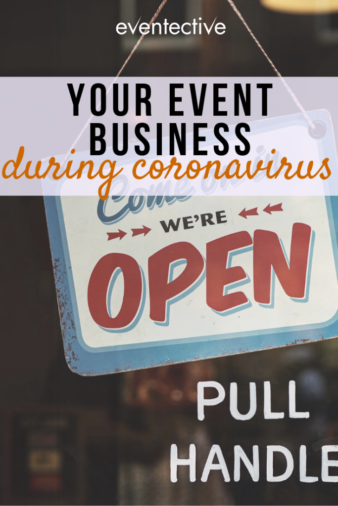 your event business during coronavirus