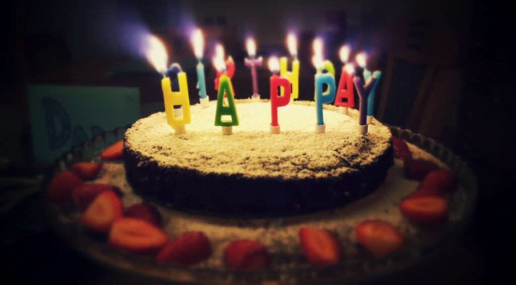 buy a cake for your virtual birthday party