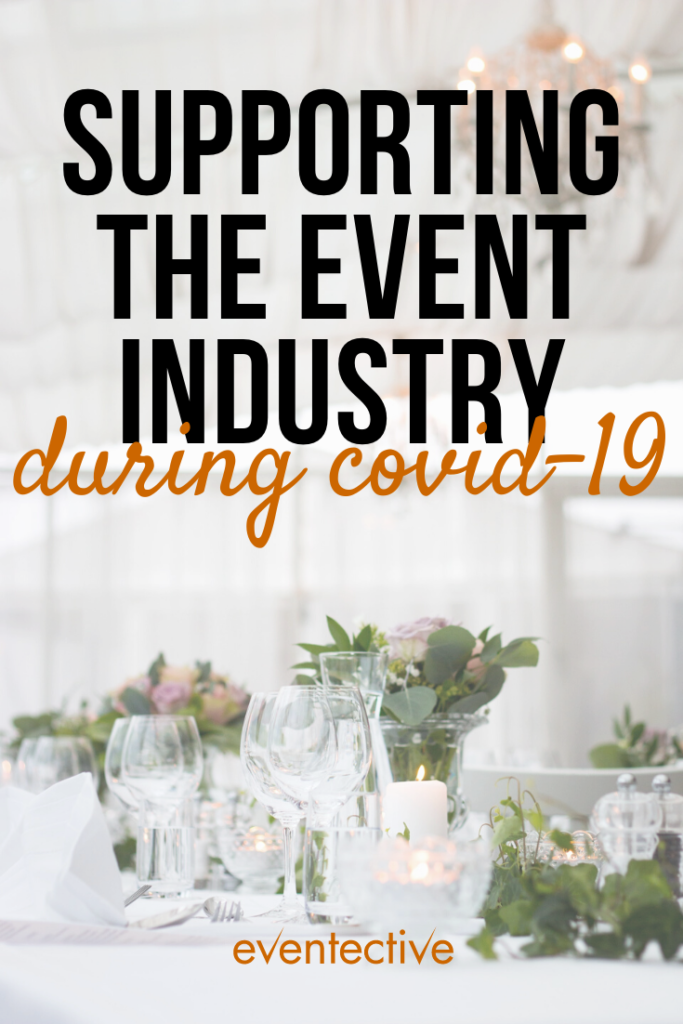 supporting the event industry during COVID-19