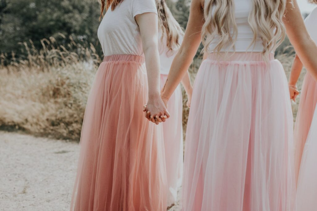 include multiple pieces so bridesmaids will re-wear the dress