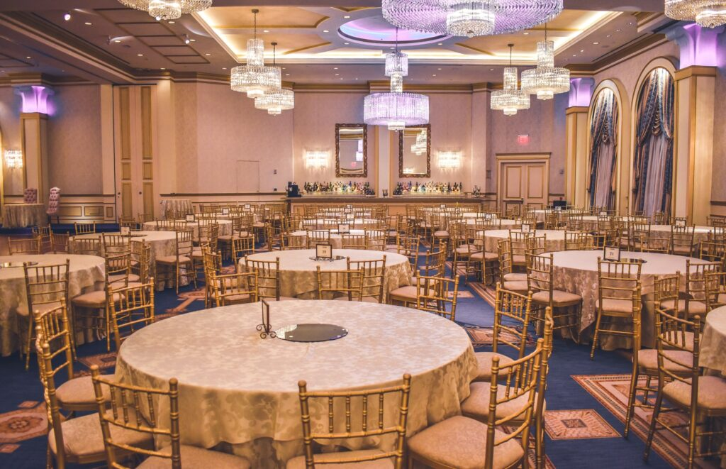 choose event venue with the right ambiance