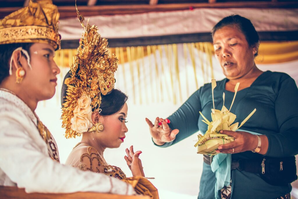 choosing a wedding officiant that you have heard speak