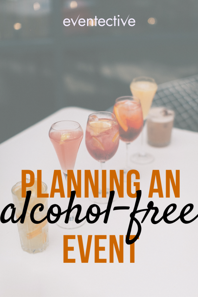 planning an alcohol-free event