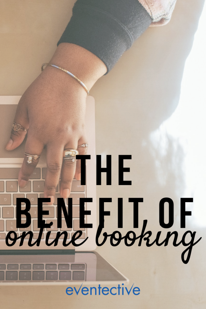 the benefit of online booking