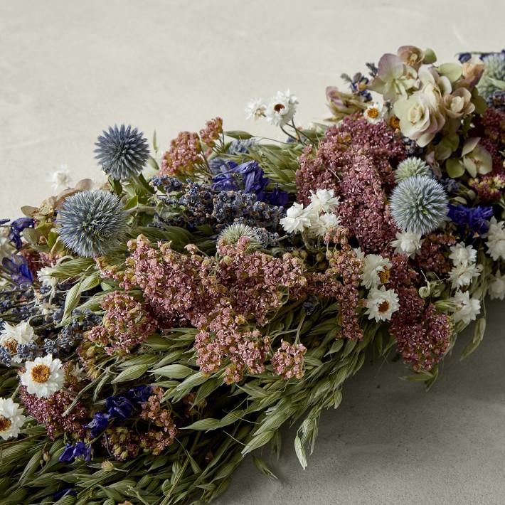 Blue Echinops for summer centerpiece