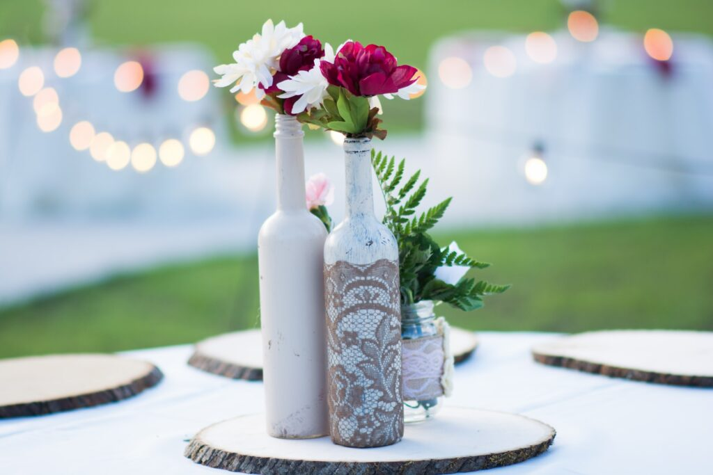 decorations for a sustainable wedding